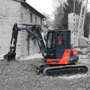 Mini excavatoare pentru constructii
